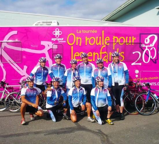 Traverser le Canada à vélo d'Ouest en Est pour changer son image de marque
